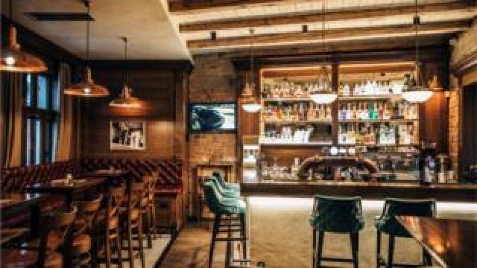An empty pub