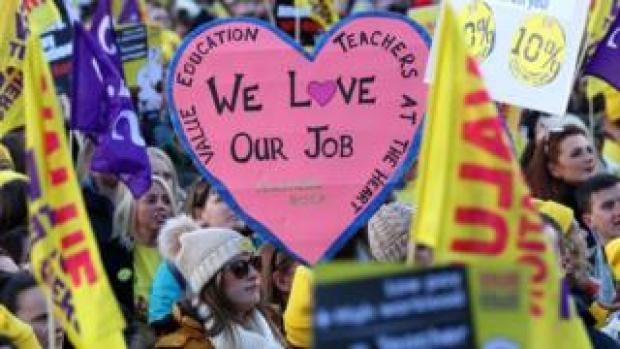 Teachers demo