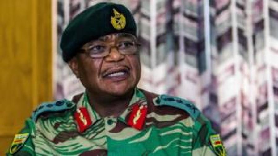 General Constantino Chiwenga yasavye ko ibikorwa vyo kwirukana intwari z'ukwikukira bihagarara