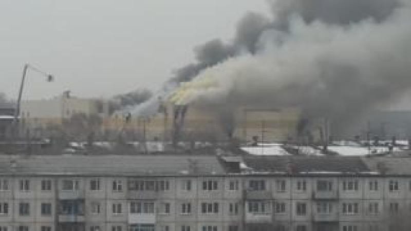 Fire at shopping centre in Kemerovo