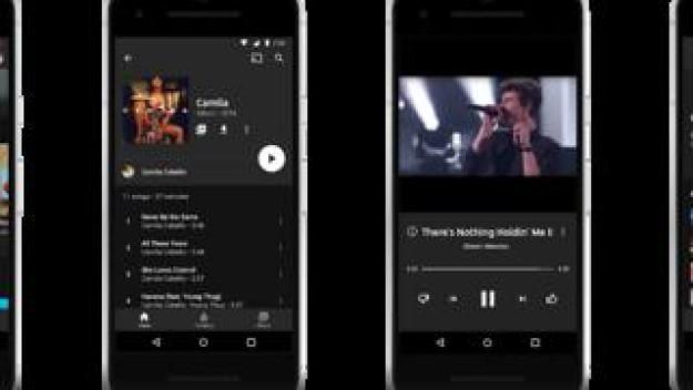 The new YouTube Music app