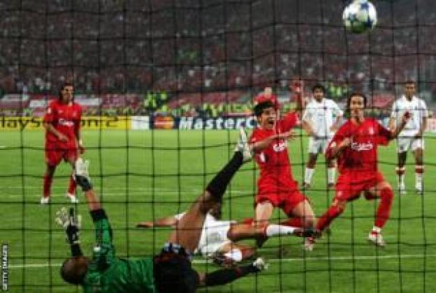 Liverpool ikina na AC Milan muri 2005