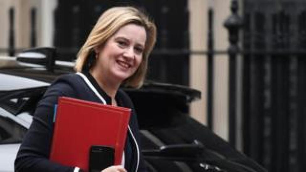 Secretary work and pensions Amber Rudd