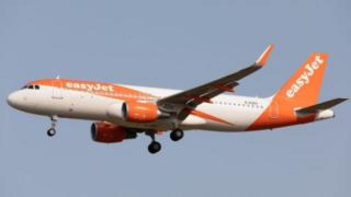 EasyJet Airbus A320 Sept 2020