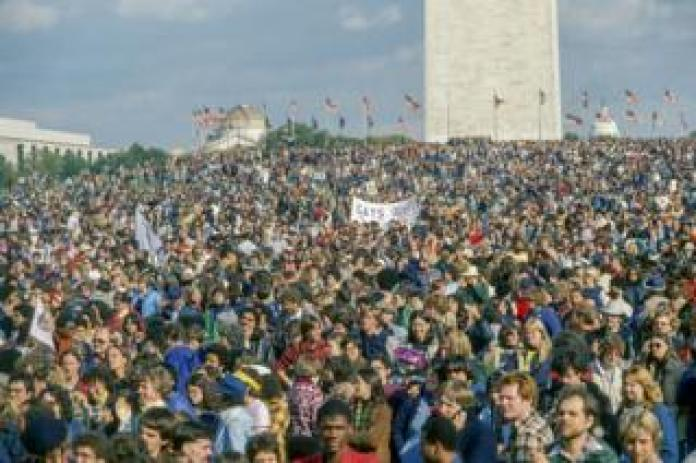 The National March On Washington filled the famous mall