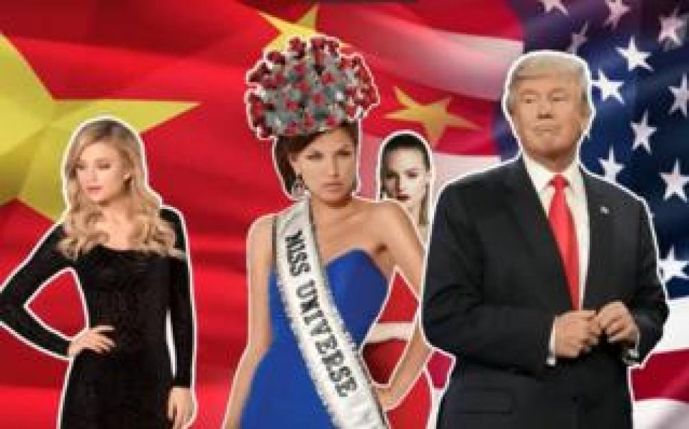 Graphic from Russia's Channel One TV