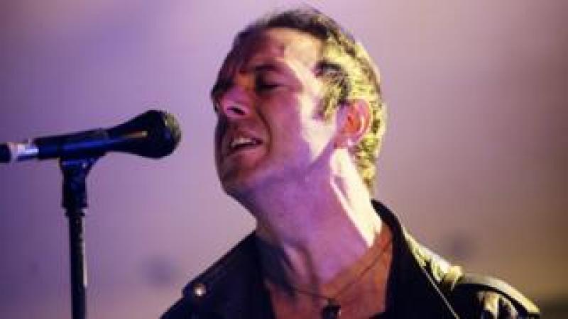 Glasvegas singer James Allan