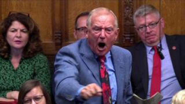MP Barry Sheerman speaking in the House of Commons