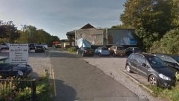 Car park opposite the former Old Roan pub on Copy Lane