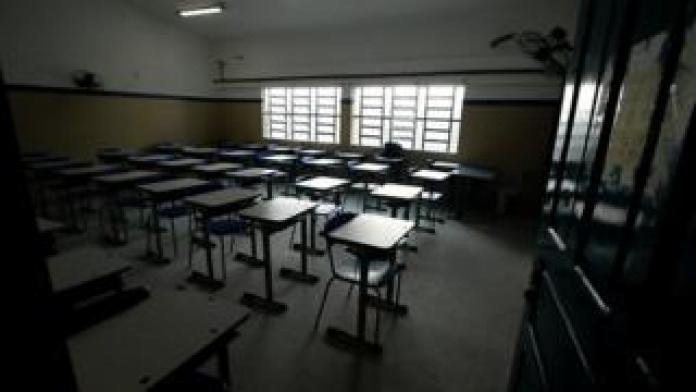 Sala de aula da rede estadual de PE
