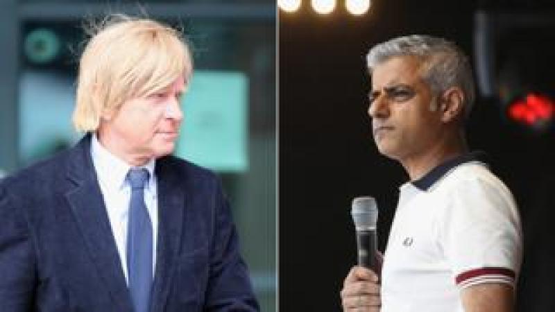 Michael Fabricant and Sadiq Khan