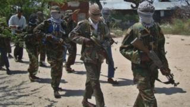 Al Shabab fighters. File photo