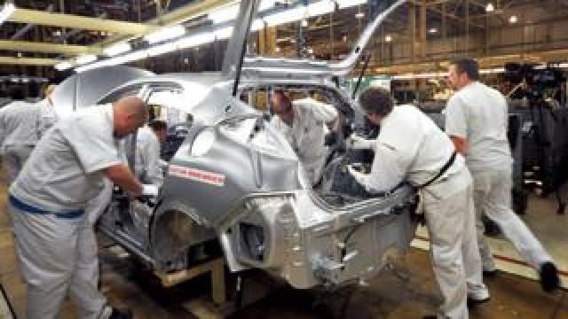 Honda production line