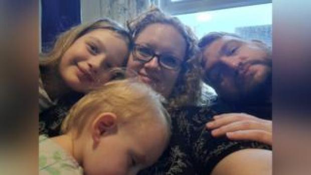 Lexi, Elizabeth, Paula and Robert Batemen