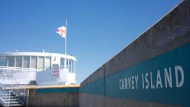 The sea front at Canvey Island