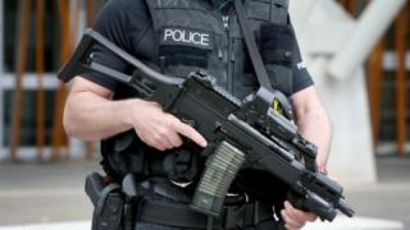 Counter-terror police officer