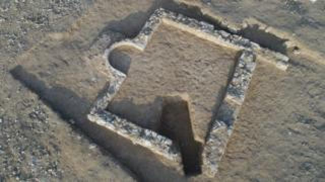 The ruins of a mosque found in Israel