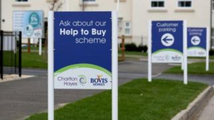 Hilfe, zum des Zeichens auf einer Wohnsiedlung zu kaufen