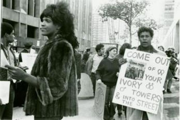 Marsha P Johnson in 1970