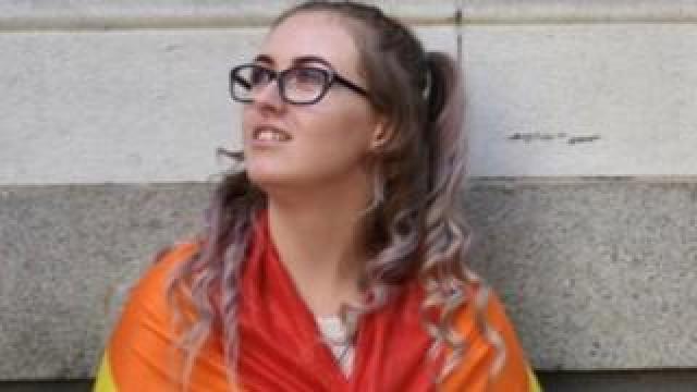 Jodie Chesney at 2018 London Pride
