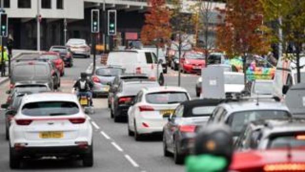 Traffic in Bristol