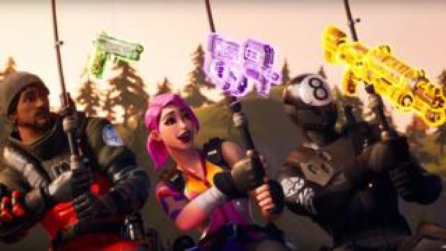 Characters from the new Fortnite season
