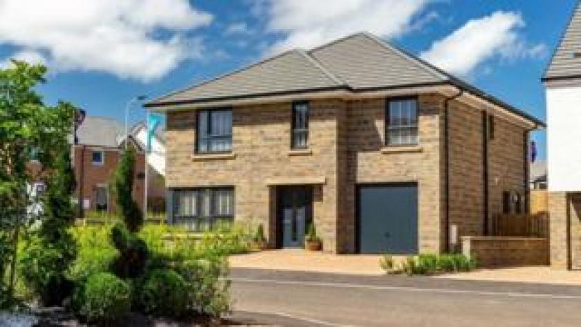 New-build home at Lethington Gardens in Haddington
