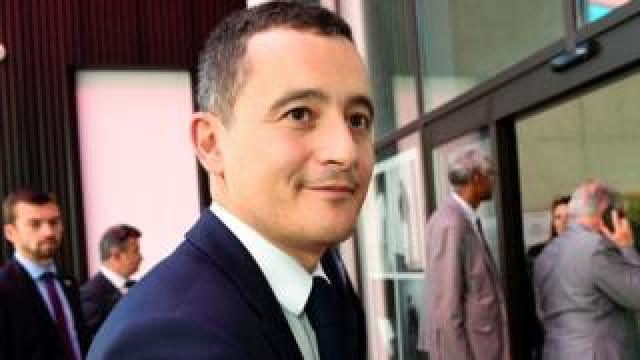 French Budget Minister Gerald Darmanin