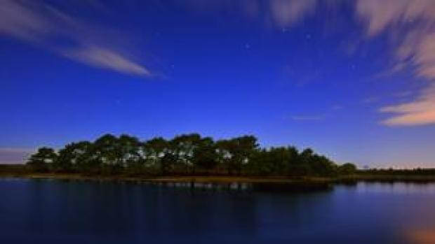 Hatchet Pond in the New Forest National Park