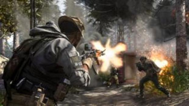 A shot from Call of Duty: Modern Warfare