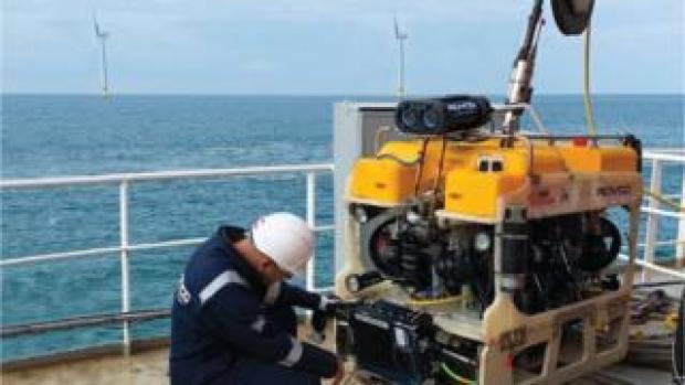 Rovco underwater vehicle offshore