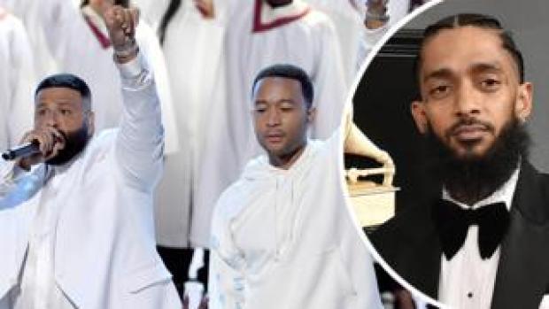DJ Khaled, Joh Legend and Nipsey Hussle
