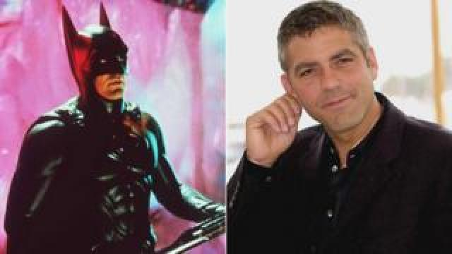 George Clooney in and out of costume