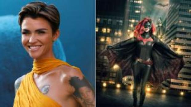 Ruby Rose in the flesh and in her Batwoman costume