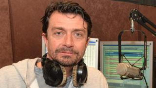 Briton Gavin Ford, who hosted a popular show for the station Radio One in Lebanon, pictured on 26 January 2017