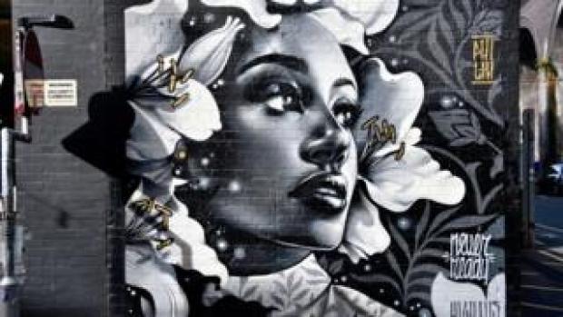 Street art by Philth
