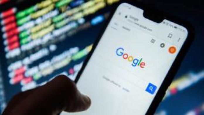 Google-Browser auf einem Android-Handy