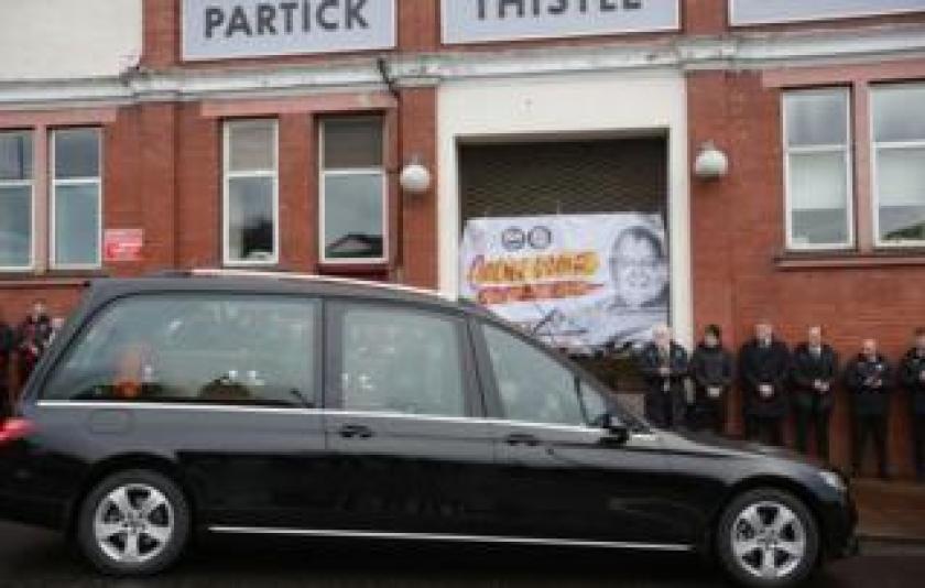 Colin Weir funeral