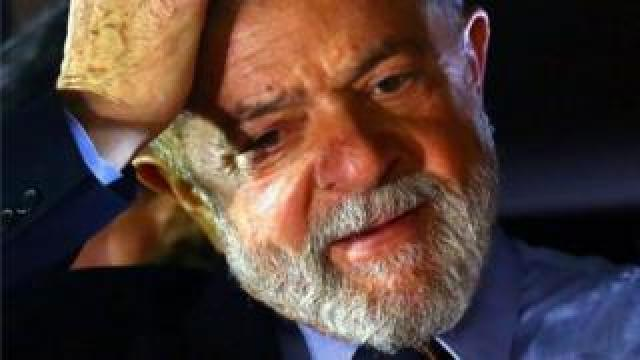 File photo of Lula from September 2017
