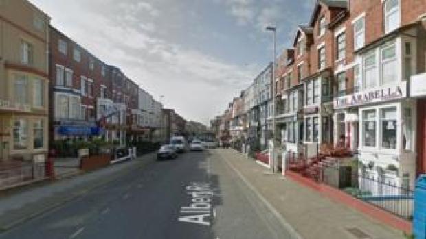 Albert Road Blackpool