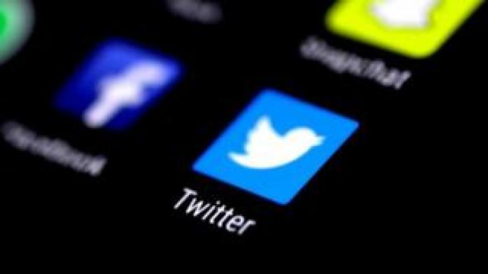 Twitter on phone
