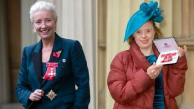 Dame Emma Thompson and Sarah Gordy