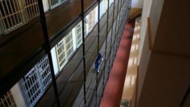 Cells in a state prison in Iowa