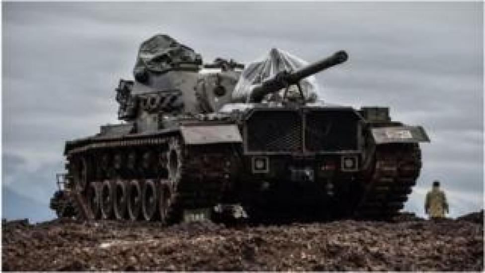 Ciidamada Turkiga ayaa dagaal xoogan kula jira Kurdiyiinta