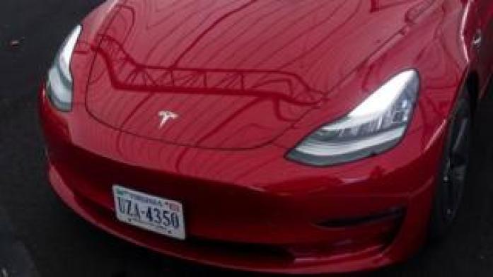 A Tesla car