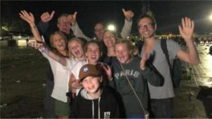 Ed Sheeran fans at Chantry Park