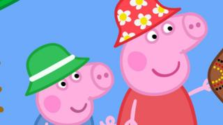 Still from a Peppa Pig programme.
