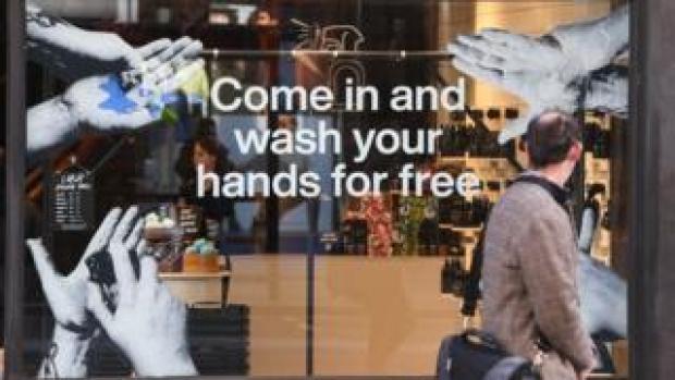 Shop window in London