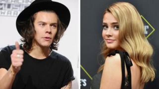 Harry Styles and Josephine Langford