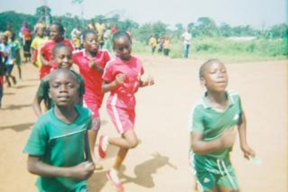 sport Children training